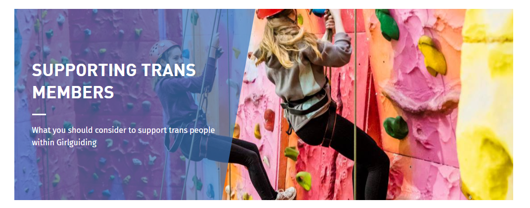 supporting trans members